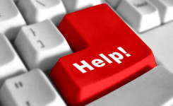help toetsenbord